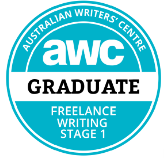 AWC freelance writer graduate