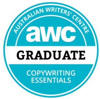 AWC Copywriting essentials graduate
