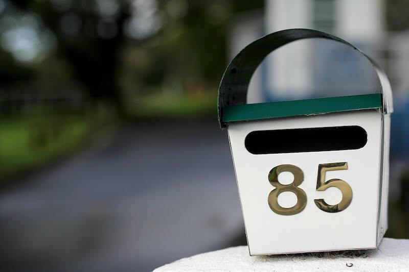 Mailbox White email marketing