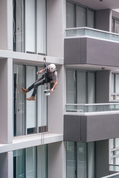 local SEO for window cleaner on ropes