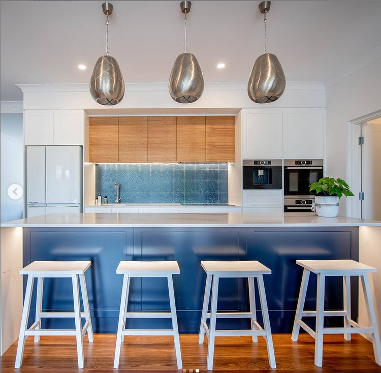 Joinery blue kitchen