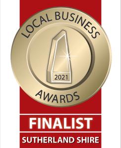 Local business award finalist 2021